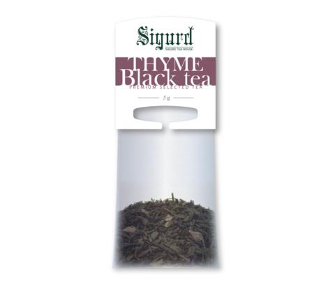 Чай Sigurd Черный с Чабрецом на чайник (20 пак)