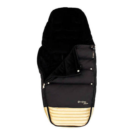 Теплый конверт в коляску Cybex Priam Footmuff by JS Wings black