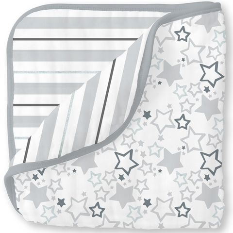 Одеяло Luxe Muslin Starshine Shimmer Sterling