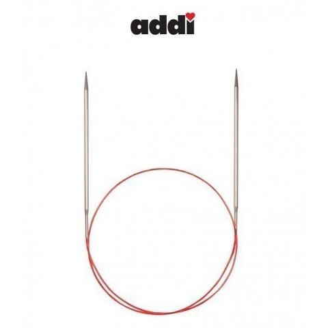 Спицы Addi круговые с удлиненным кончиком для тонкой пряжи 50 см, 2.5 мм
