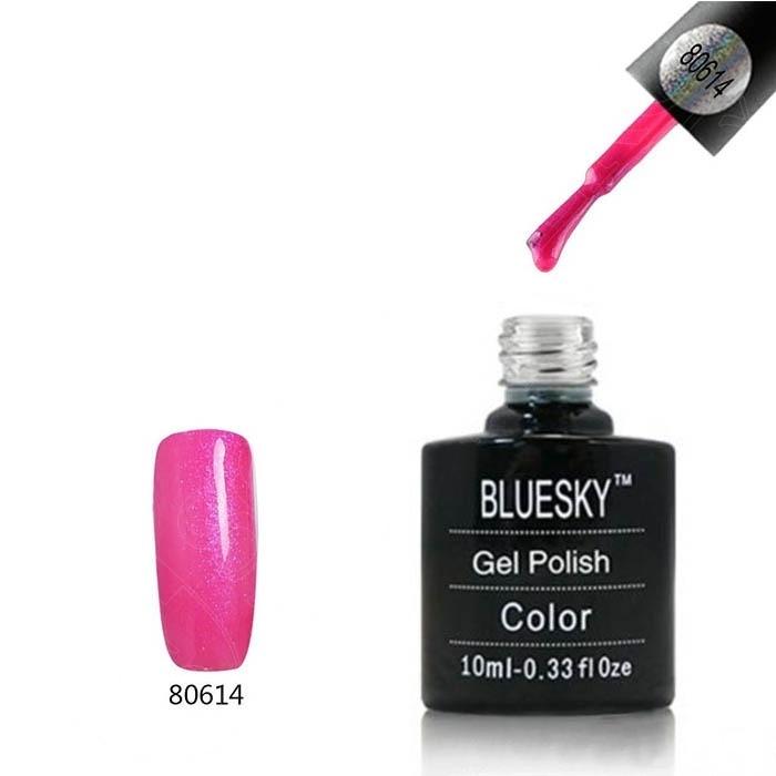 Bluesky Shellac 40501/80501 Гель-лак Bluesky № 40614/80614 Future Fuchsia, 10 мл bluesky-shellac-614.jpg