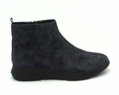 Серые ботинки с декором