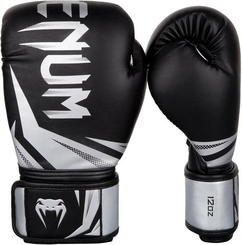 Перчатки для бокса Venum Challenger 3.0 Boxing Gloves-Black/Silver