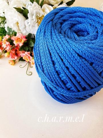 Светло-синий Полиэфирный шнур 5 мм