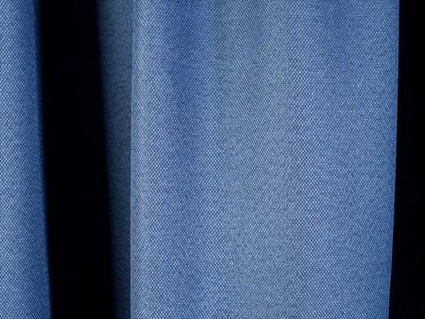 Блэкаут рогожка для штор голубая. Ш-280 см. Арт. BLR-208