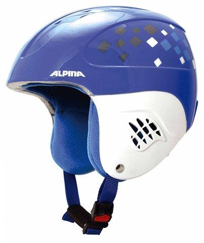 Картинка шлем горнолыжный Alpina CARAT blue-diamonds
