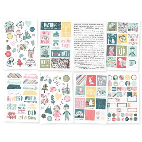 Стикеры - Simple Stories Collection - Freezin' Season