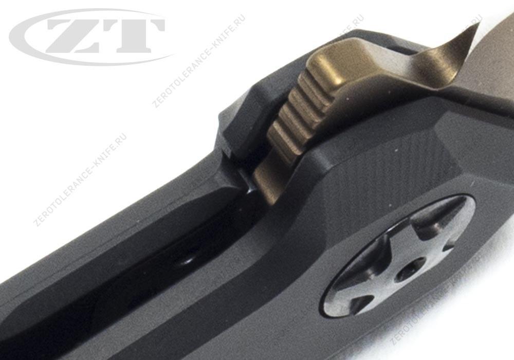 Нож Zero Tolerance 0095TANBLK - фотография