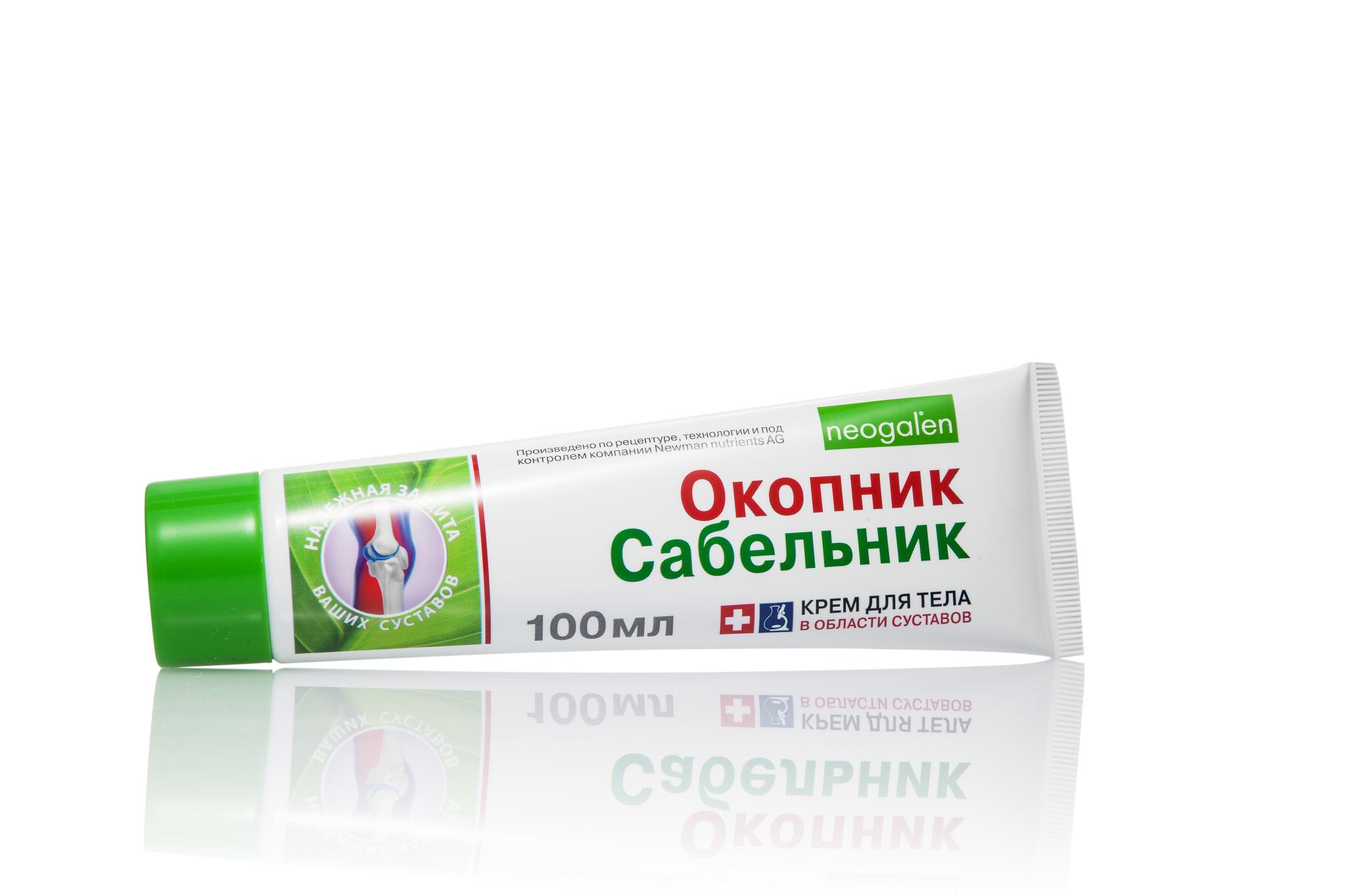 Neogalen Окопник и Сабельник крем для тела 100 мл.