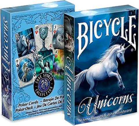 Карты Bicycle Anne Stokes Unicorns