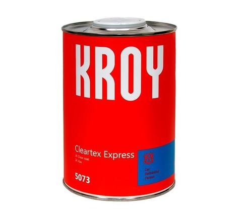 5073 KROY Cleartex Express 2K Лак 0.8 L + отверд. K1 KROY 2K Hardener 0,2 L