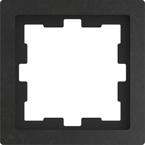 Рамка на 1 пост. Цвет Базальт. Merten. D-Life System Design. MTN4010-6547