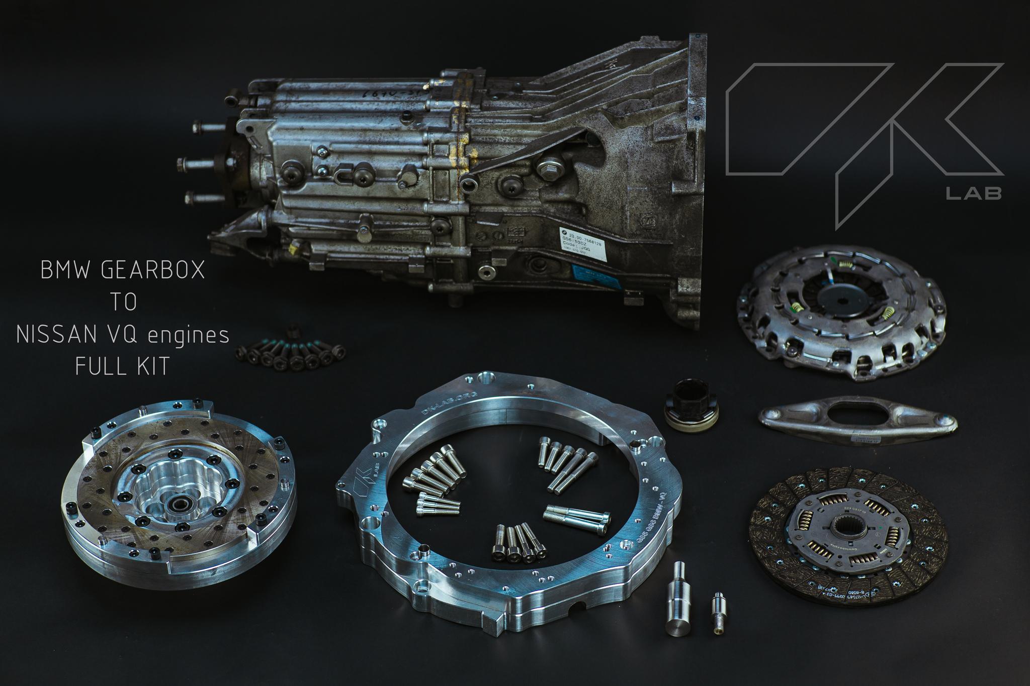DK_LAB VQ30DET СВАП КОМПЛЕКТ НА BMW КПП