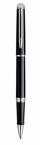 Подарочный набор Ручка-роллер Waterman Hemisphere Essential, Mars Black CT с чехлом123