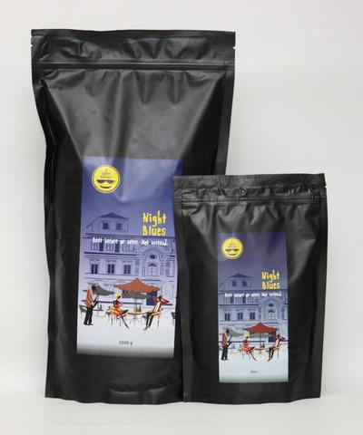 Night Blues - романтичный кофе для влюбленных