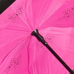 Зонт Up-brella полуавтомат фуксия