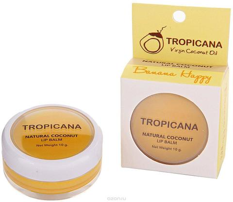 Tropicana Lip Blam Banana Happy - Бальзам для губ