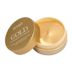 Petitfee +5 Gold Hydrogel Eye Patch - Гидрогелевые патчи для кожи вокруг глаз с золотым комплексом