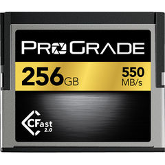 Карта памяти ProGrade 256GB CFast 2.0 550 - 450MB/s for Blackmagic