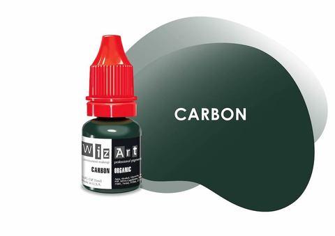 Carbon (ультра-чёрный) • Wizart Organic • пигмент для век