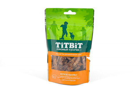 Titbit легкое телячье для маленьких собак 50 г