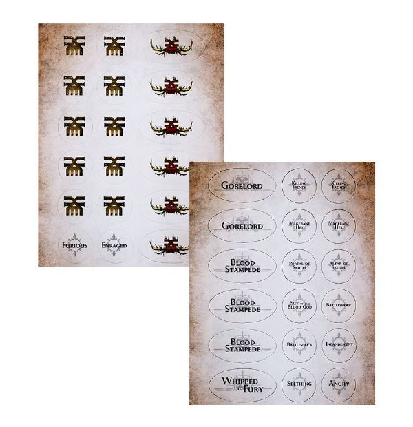 Warscroll Cards: Blades of Khorne