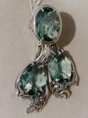 Тиффани А (кольцо + серьги из серебра)