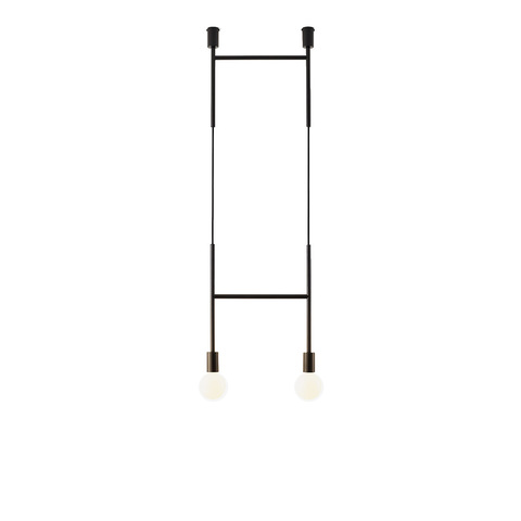 Потолочный светильник копия Side Step by Volker Haug (черный)