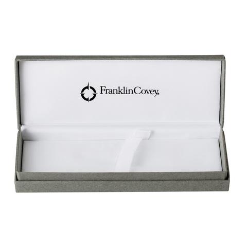 FranklinCovey Newbury - Satin Black, шариковая ручка со стилусом, M, BL
