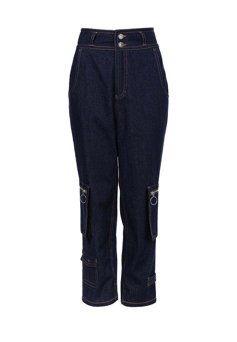 Брюки из джинсы