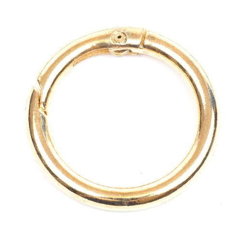 "Карабин-кольцо 25мм ""Золото"""