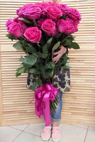букет из 77 роз  #19409
