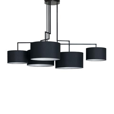 Потолочный светильник копия Noon 5 by Zeitraum (черный)