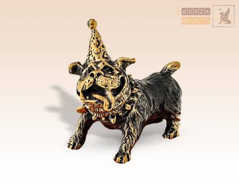 фигурка Собака - Именинница Бульдог