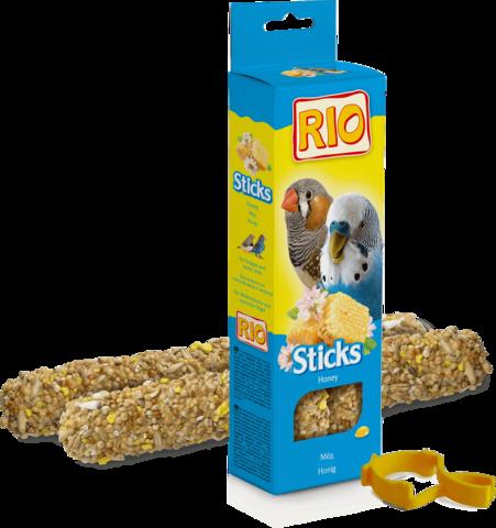 RIO - Палочки для волнистых попугайчиков и экзотов с медом