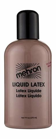 MEHRON Жидкий латекс Latex Liquid Dark Flesh (Темная кожа, 270 мл)