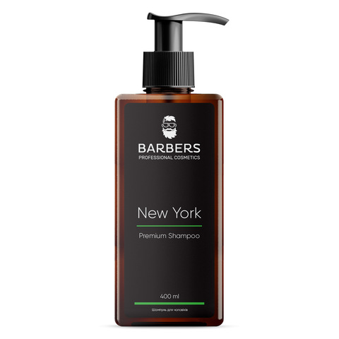Шампунь для мужчин тонизирующий Barbers New York 400 мл (1)