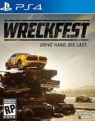 PS4 Wreckfest Стандартное издание (русская версия)