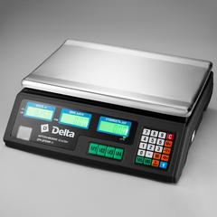 Весы электронные торговые настольные Delta до 35 кг ТВН-35
