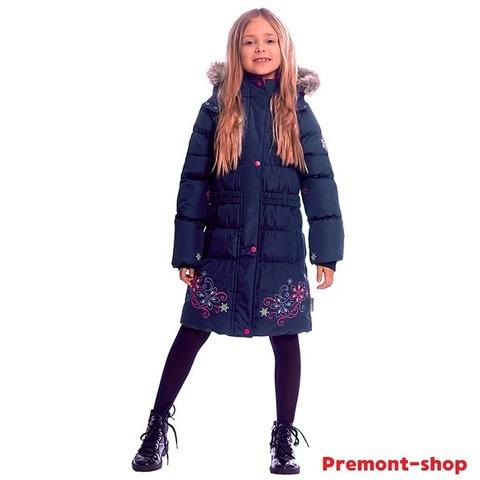Пальто Premont Маршмеллоу WP91352 DARK BLUE