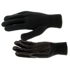 Перчатки трикотажные, акрил, ПВХ гель,