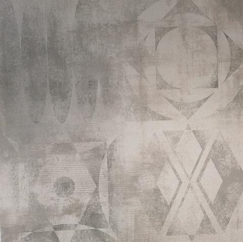 Декор GRASARO Gesso 400x400 серый G-50/M/d01