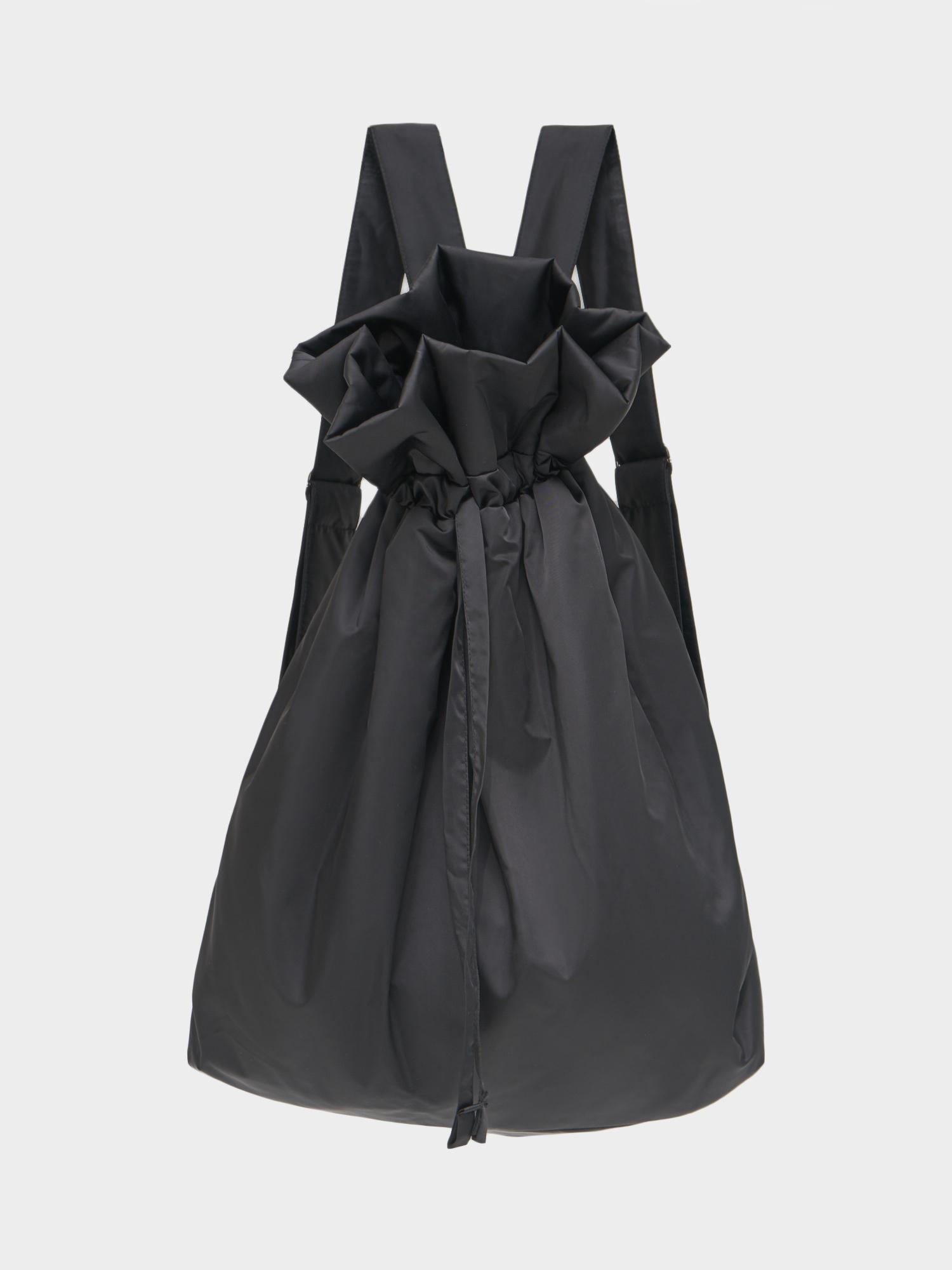 Рюкзак-мешок утепленный, Черный