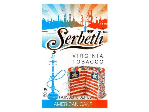 Табак для кальяна SERBETLI AMERICAN CAKE  50gr