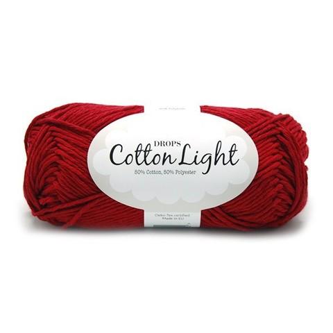 Пряжа Drops Cotton Light 17 бордо