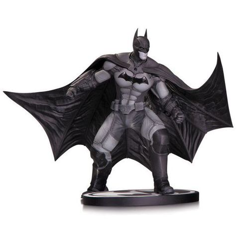 Batman: Arkham Origins Black & White Statue