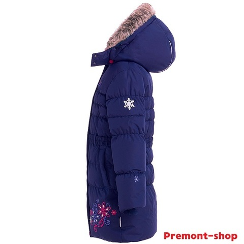 Пальто Premont Зима Маршмеллоу WP91352 DARK BLUE