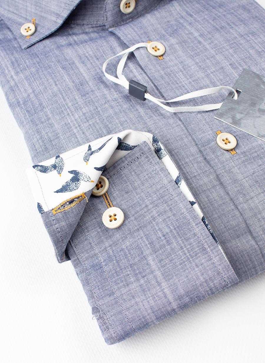 Рубашка Ledub slim fit 0138021-170-170-920