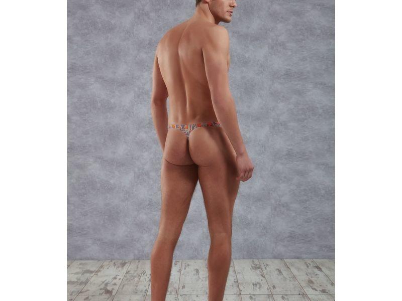 Мужские трусы стринги серые Doreanse Sports 1372