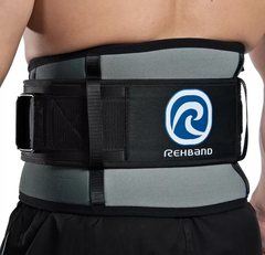 Спортивный бандаж тяжелоатлета поясничный Rehband 7792